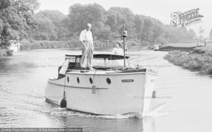 Photo of Abingdon, A Boat On The River Thames c.1950