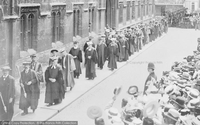 Photo of Abingdon, A Procession In Ock Street 1897