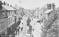 Abingdon, A Procession In Ock Street 1897
