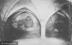 Abingdon, Abbey Crypt 1924