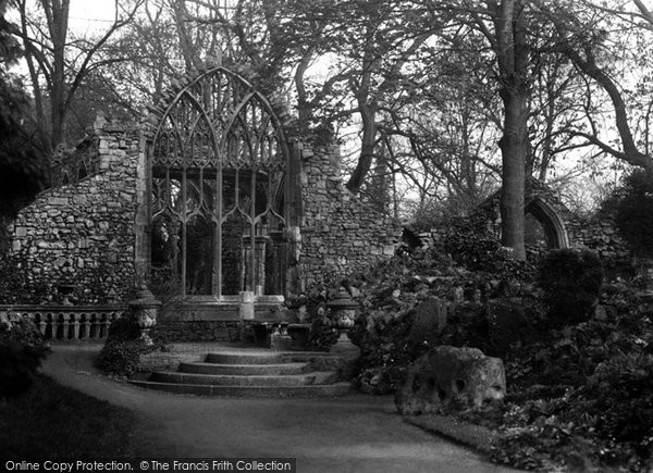 Photo of Abingdon, Abbey Gardens, Trendell's Ruins 1925