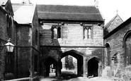 Abingdon, Abbey Gate 1893