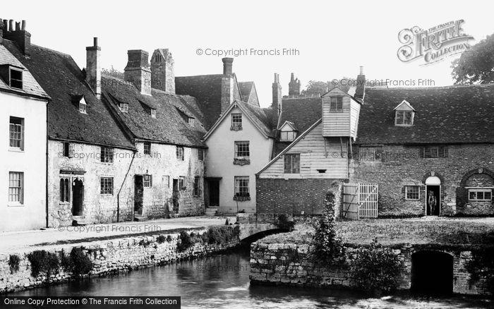 Abingdon,Abbey Mill 1890,Oxfordshire