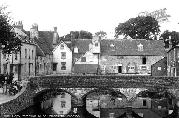 Photo of Abingdon, Abbey Mill And Bridge 1890