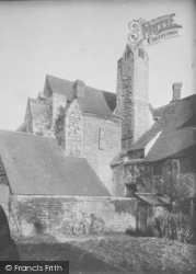 Abingdon, Abbey, The Checker Building Chimney 1924