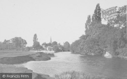 Abingdon, Above Bridge 1924