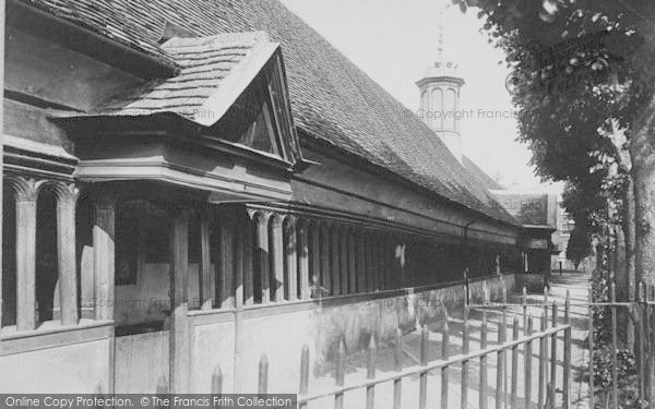 Photo of Abingdon, Almshouses 1893