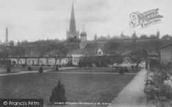 Abingdon, Almshouses And Church 1900