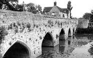 Abingdon, Arches Bridge c.1965