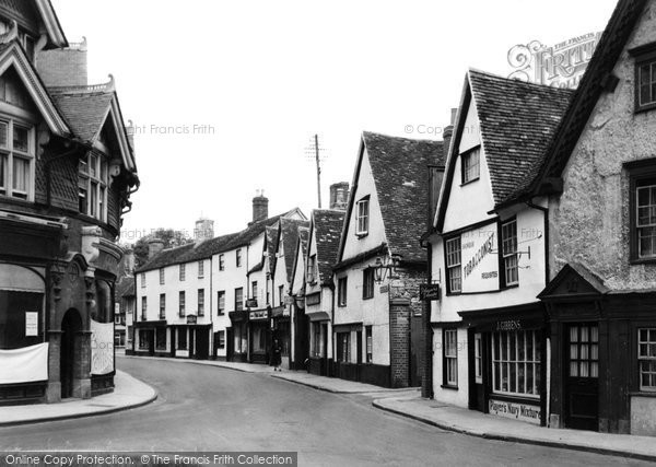 Photo of Abingdon, Bath Street c.1945