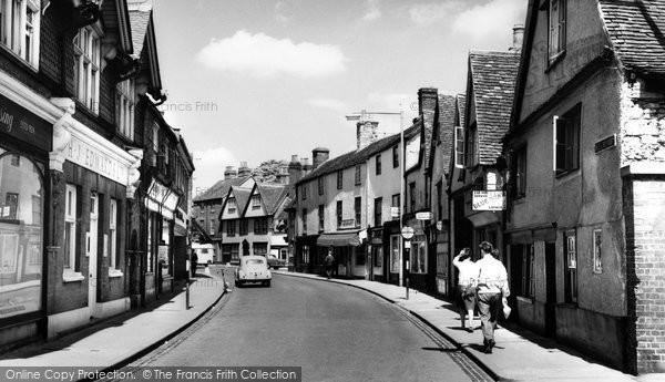 Photo of Abingdon, Bath Street c.1965