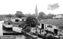 Abingdon, Boatyards On The River Thames c.1960
