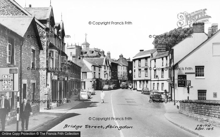 Photo of Abingdon, Bridge Street c.1960