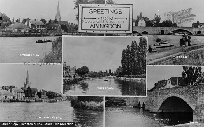 Photo of Abingdon, Composite c.1950