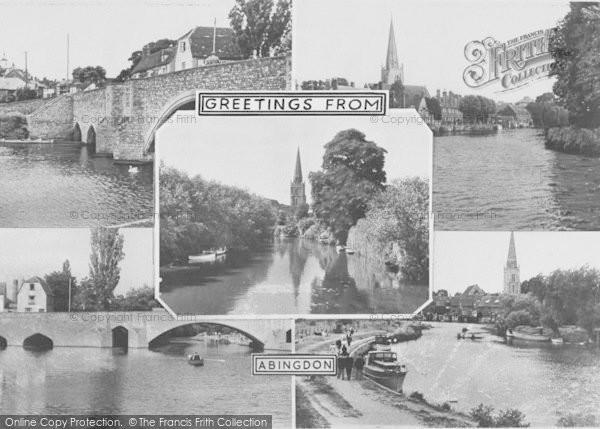 Photo of Abingdon, Composite c.1955
