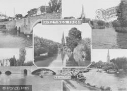 Abingdon, Composite c.1955