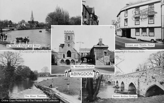 Photo of Abingdon, Composite c.1960
