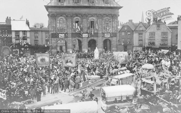 Photo of Abingdon, Diamond Jubilee Celebrations 1897