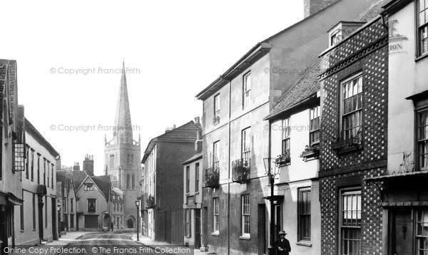 Photo of Abingdon, East St Helen Street 1890
