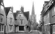 Abingdon, East St Helen Street 1924