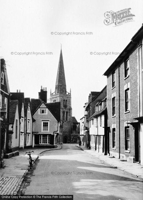 Photo of Abingdon, East St Helen Street c.1955