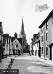 Abingdon, East St Helen Street c.1955