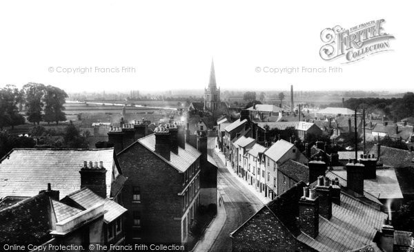 Photo of Abingdon, East St Helen Street From Town Hall Roof 1900