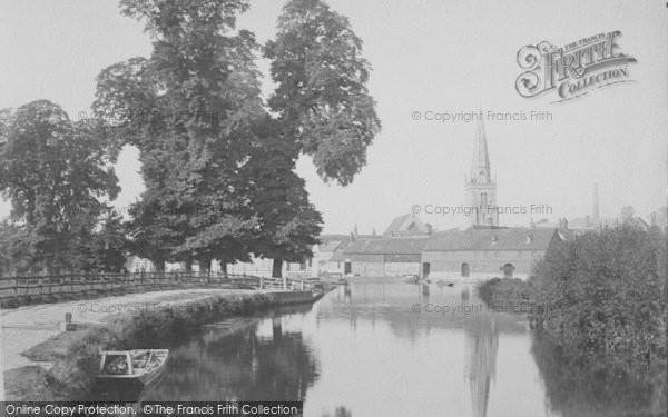 Photo of Abingdon, From Below The Bridge 1890