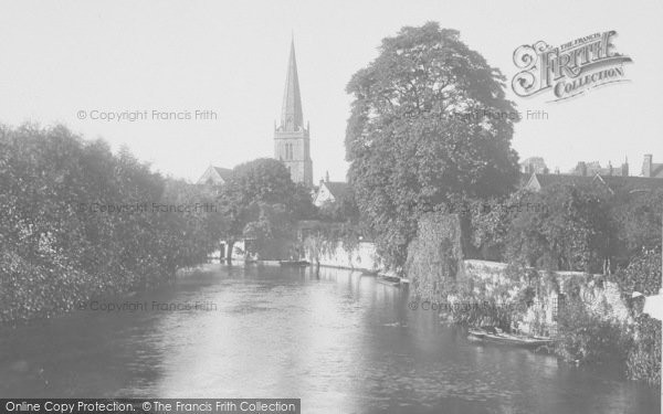 Photo of Abingdon, From Bridge 1924