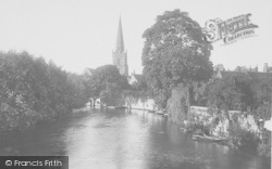 Abingdon, From Bridge 1924