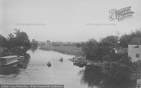 Photo of Abingdon, From The Bridge 1890