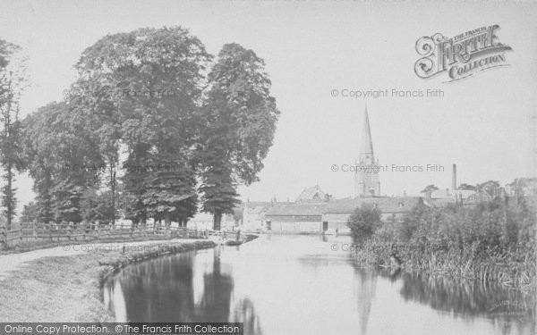 Photo of Abingdon, From The River c.1900