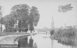 Abingdon, From The River c.1900
