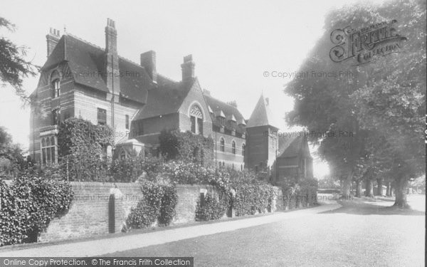 Photo of Abingdon, Grammar School 1925