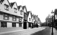 Abingdon, High Street And Lion Hotel 1893