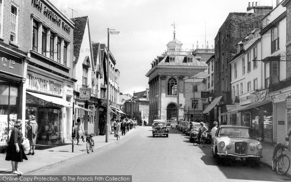 Photo of Abingdon, High Street c.1965