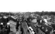 Abingdon, High Street From Town Hall Roof 1900