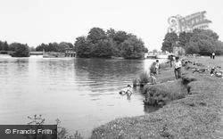 Abingdon, Lock And Weir c.1960