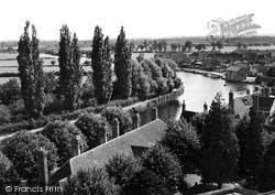 Abingdon, Looking South From The Church Tower c.1945