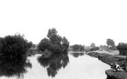 Abingdon, Looking Towards Abbey Lock 1890