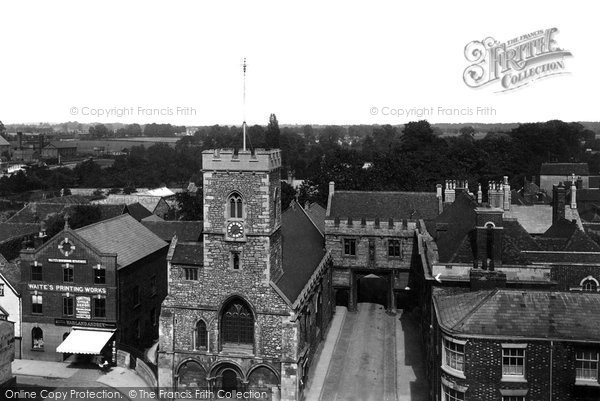 Photo of Abingdon, Market Place And Abbey Gate 1900