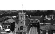 Abingdon, Market Place And Abbey Gate 1900