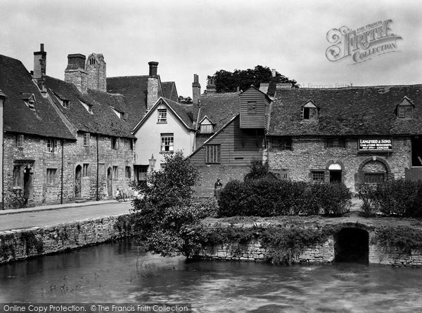 Photo of Abingdon, Old Mill 1925