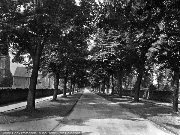 Photo of Abingdon, Park Road 1925