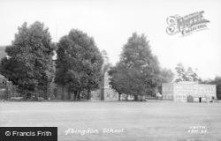 Abingdon, School c.1950