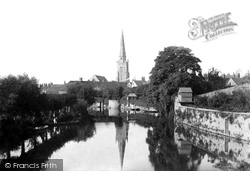 Abingdon, St Helen's Church 1890