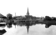 Abingdon, St Helen's Church 1900