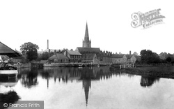 Abingdon, St Helen's Church 1900