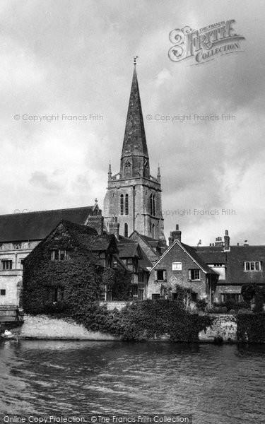Photo of Abingdon, St Helen's Church c.1955