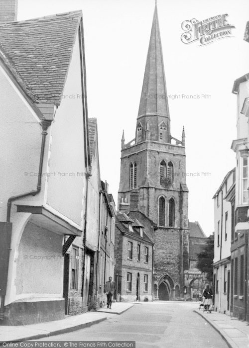 Photo of Abingdon, St Helen's Church c.1960